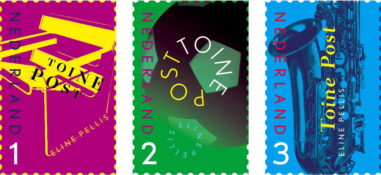 Postzegels voor Toine