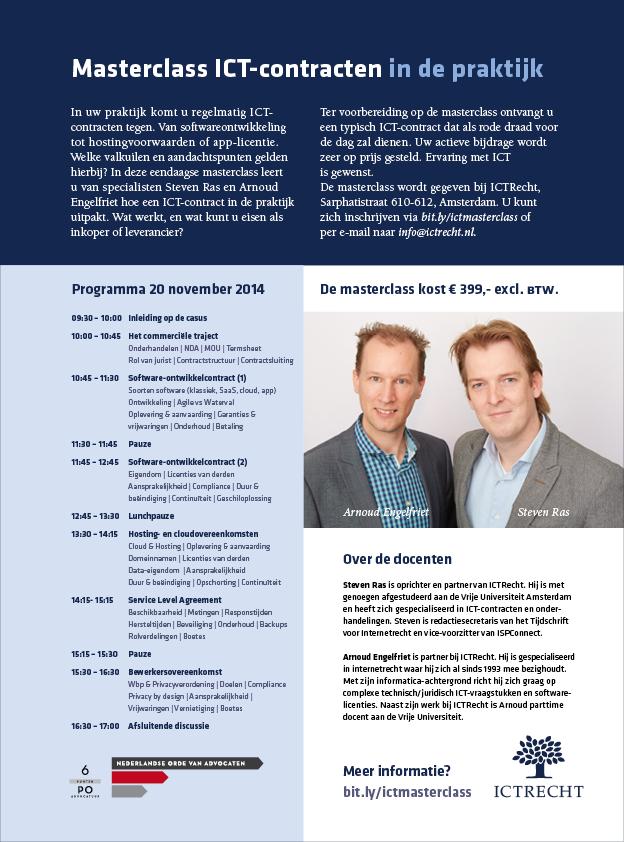 Advertentie ICTRecht2
